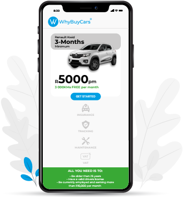 WhyBuyCars on mobile
